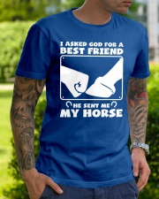 Horse Lovers T-Shirt Classic T-Shirt lifestyle-mens-crewneck-front-7