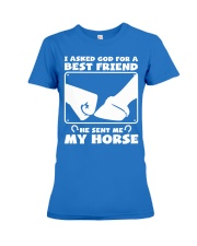 Horse Lovers T-Shirt Premium Fit Ladies Tee front