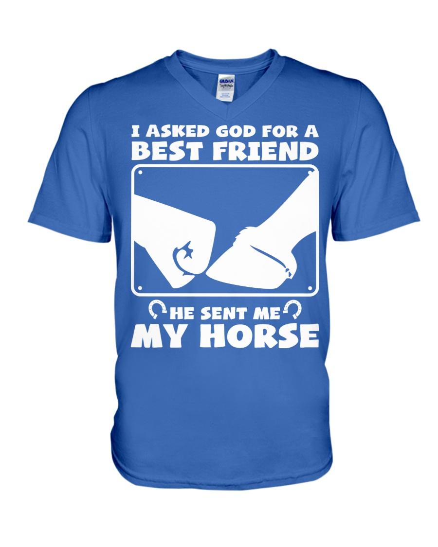 Horse Lovers T-Shirt V-Neck T-Shirt