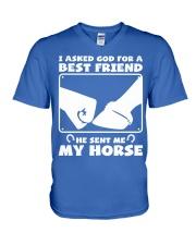 Horse Lovers T-Shirt V-Neck T-Shirt front