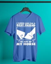 Horse Lovers T-Shirt V-Neck T-Shirt lifestyle-mens-vneck-front-3