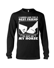 Horse Lovers T-Shirt Long Sleeve Tee thumbnail