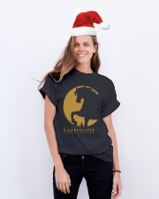 Funny Horse Tshirts Classic T-Shirt lifestyle-holiday-crewneck-front-1