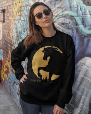 Funny Horse Tshirts Crewneck Sweatshirt lifestyle-unisex-sweatshirt-front-3