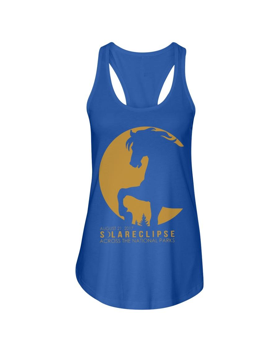 Funny Horse Tshirts Ladies Flowy Tank