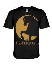 Funny Horse Tshirts V-Neck T-Shirt thumbnail
