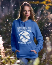 Amazing T-shirts for Horse Lovers Hooded Sweatshirt lifestyle-holiday-hoodie-front-5