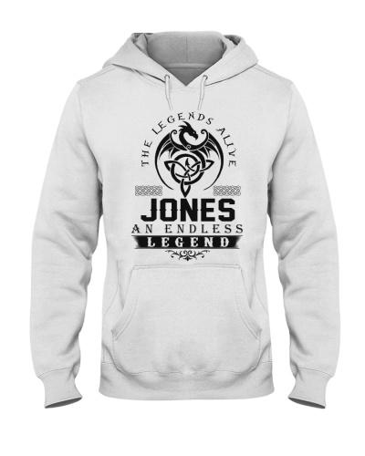 Jones An Endless Legend Alive T-Shirts
