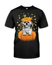 Shih Tzu Halloween Shirts Classic T-Shirt front