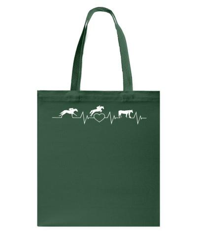 Horse Heart Beat T-shirt Horse Lovers Gift