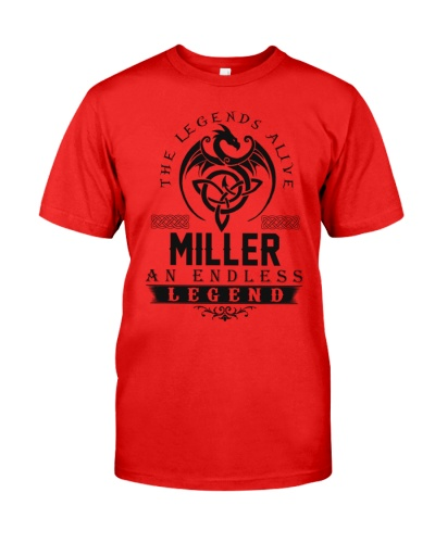 Miller An Endless Legend Alive T-Shirts