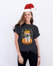 Labrador Halloween Shirts Classic T-Shirt lifestyle-holiday-crewneck-front-1