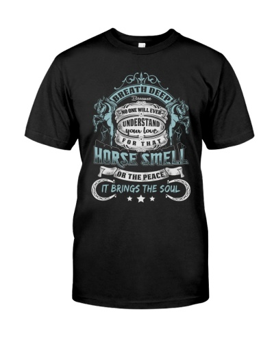 Horse Smell T-shirt Horse Lovers Equestrians Gifts