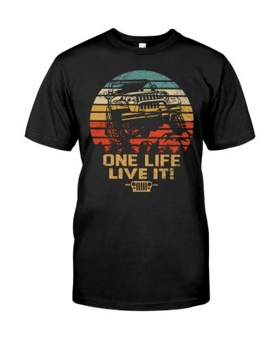 One Life Live It T-shirt