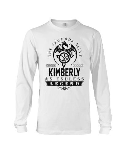 Kimberly An Endless Legend Alive T-Shirts