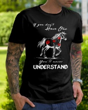 Horse T-Shirt Gift Tee Shirt  Classic T-Shirt lifestyle-mens-crewneck-front-7