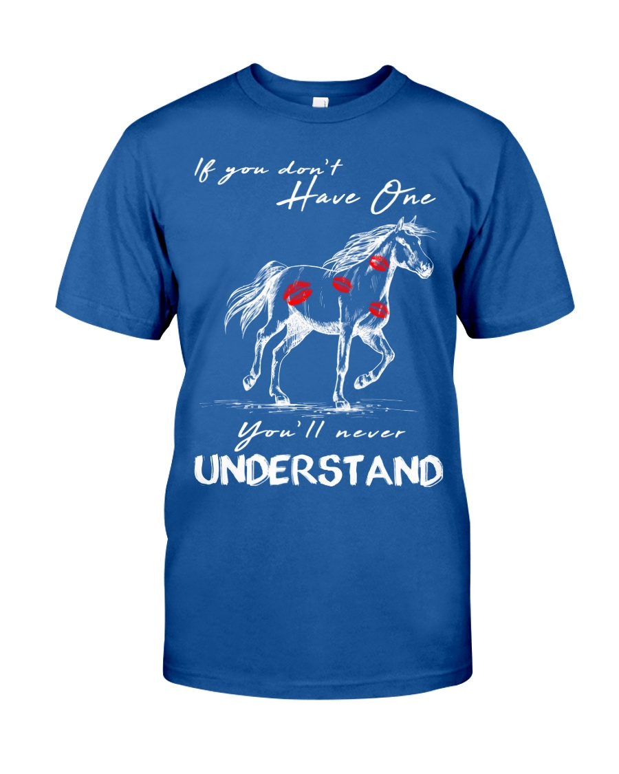 Horse T-Shirt Gift Tee Shirt  Classic T-Shirt