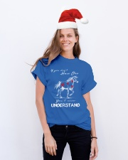 Horse T-Shirt Gift Tee Shirt  Classic T-Shirt lifestyle-holiday-crewneck-front-1