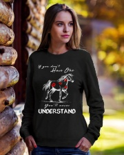 Horse T-Shirt Gift Tee Shirt  Crewneck Sweatshirt lifestyle-unisex-sweatshirt-front-7