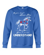 Horse T-Shirt Gift Tee Shirt  Crewneck Sweatshirt front