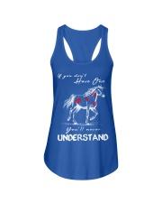 Horse T-Shirt Gift Tee Shirt  Ladies Flowy Tank front