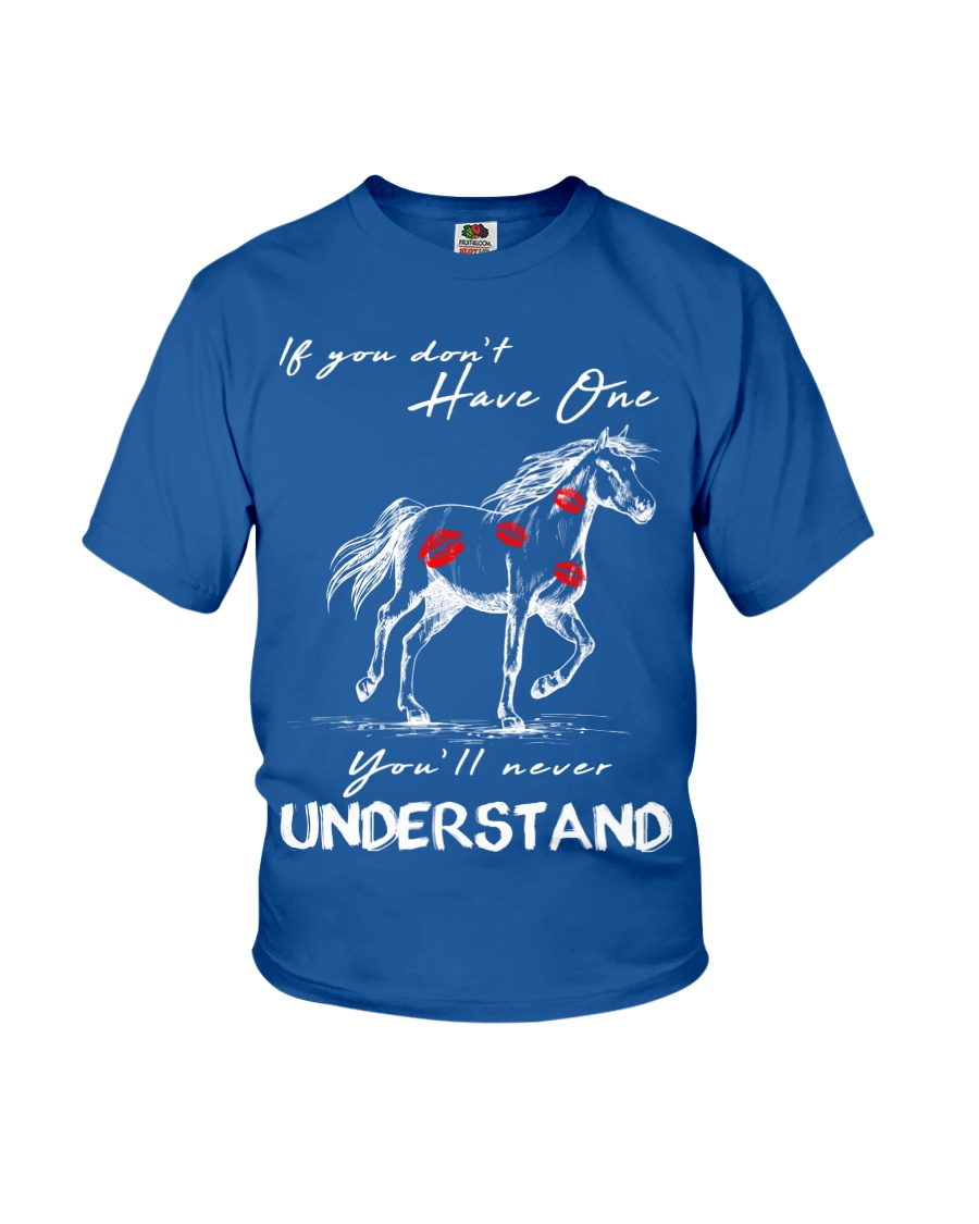 Horse T-Shirt Gift Tee Shirt  Youth T-Shirt