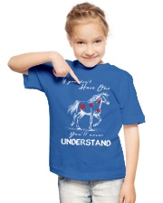 Horse T-Shirt Gift Tee Shirt  Youth T-Shirt lifestyle-youth-tshirt-front-2