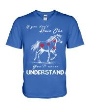 Horse T-Shirt Gift Tee Shirt  V-Neck T-Shirt front