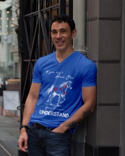 Horse T-Shirt Gift Tee Shirt  V-Neck T-Shirt lifestyle-mens-vneck-front-1