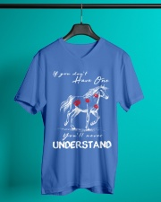 Horse T-Shirt Gift Tee Shirt  V-Neck T-Shirt lifestyle-mens-vneck-front-3