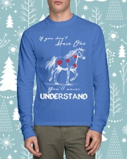 Horse T-Shirt Gift Tee Shirt  Long Sleeve Tee lifestyle-holiday-longsleeves-front-1