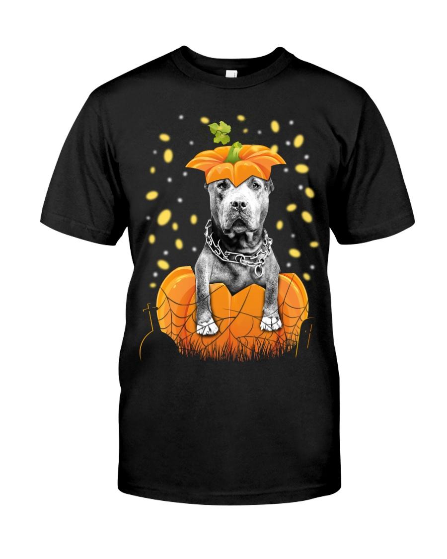 Pit bull  Halloween Shirts Classic T-Shirt