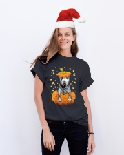 Pit bull  Halloween Shirts Classic T-Shirt lifestyle-holiday-crewneck-front-1