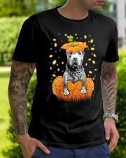 Pit bull  Halloween Shirts Classic T-Shirt lifestyle-mens-crewneck-front-7