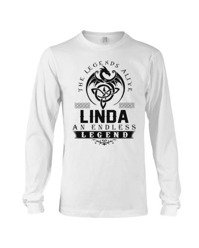 Linda An Endless Legend Alive T-Shirts