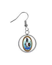 Blue Footed Booby Jewelry Circle Earrings thumbnail