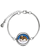 Woodland Mouse Jewelry Metallic Circle Bracelet thumbnail