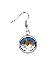 Woodland Mouse Jewelry Circle Earrings thumbnail