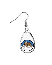 Woodland Mouse Jewelry Teardrop Earrings thumbnail