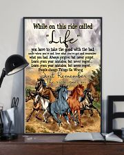 Horse While On This Ride Called Life  You Have To  11x17 Poster lifestyle-poster-2