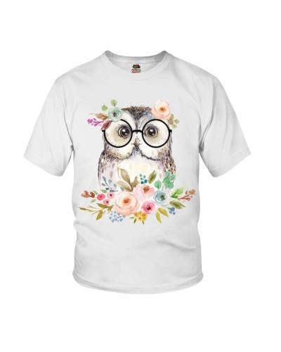 Owl Flower Glasses