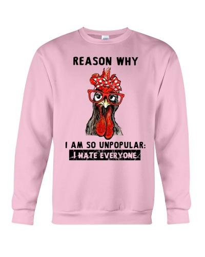 Chicken Reason why I am so unpopular