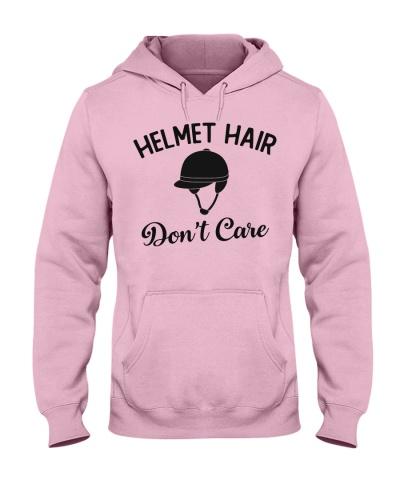 Horse Helmet hair don't care