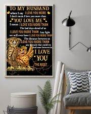 Owl To My Husband When I Say I Love You More  16x24 Poster lifestyle-poster-1