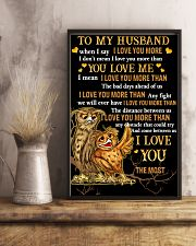 Owl To My Husband When I Say I Love You More  16x24 Poster lifestyle-poster-3