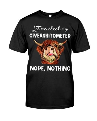 Cow Let Me Check GIveashitometer