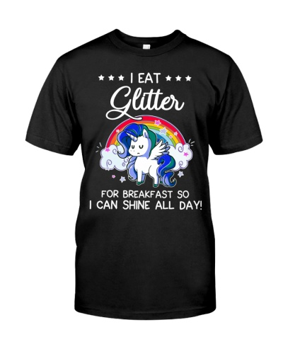 Unicorn I Eat Gliter