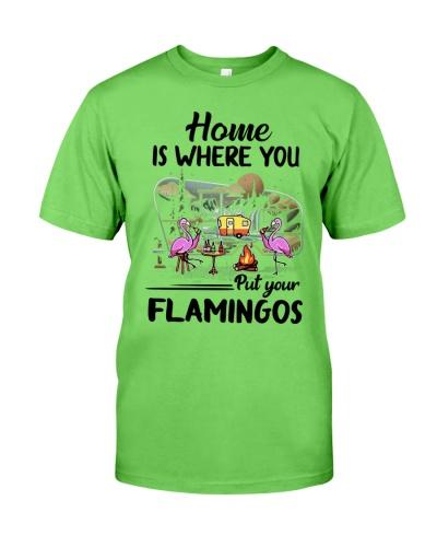 Flamingo Home Is Where You