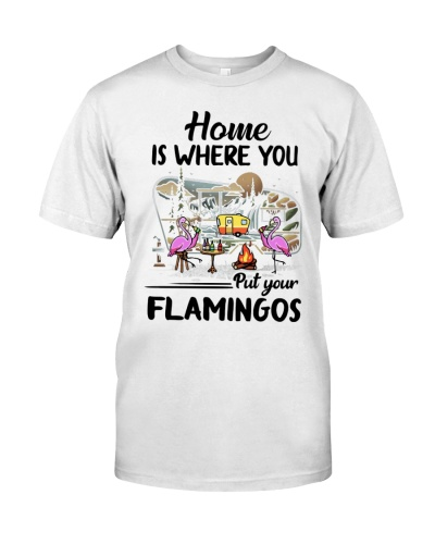 Flamingo Home Is Where You