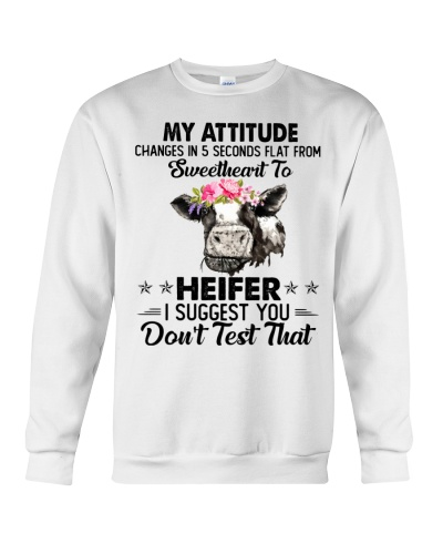 Cow My Attitude Changes In 5 Second